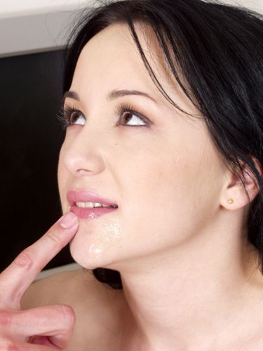 Frauen besonders Sperma geil am Telefon